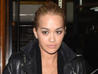 Rita Ora wears fishnets and very booby dress on dinner date with Lewis Hamilton
