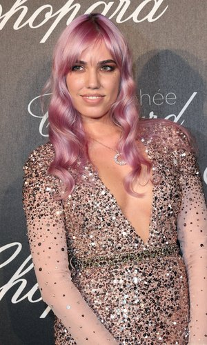 Amber Le Bon, daughter of Duran Duran lead singer Simon Le Bon, arrives at the Chopard Trophy Ceremony at the annual 69th Cannes Film Festival at Hotel Martinez on May 12, 2016 in Cannes, France.