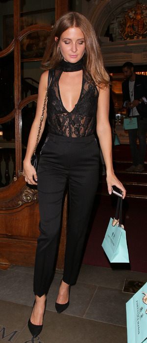 Millie Mackintosh attends the Rosie Fortescue Jewellery launch in London, 21st June 2016