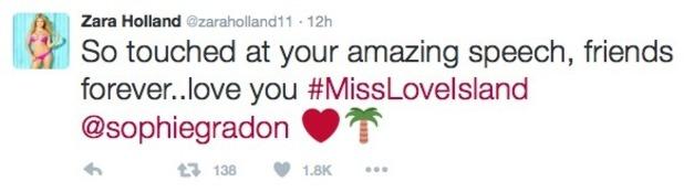 Zara Holland confirms her mum is feeling better - 22 June 2016