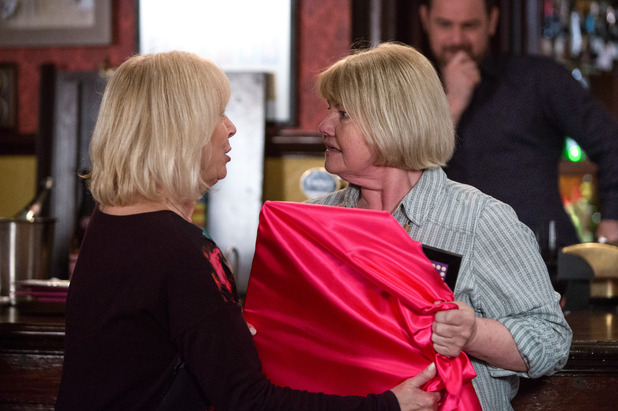 EastEnders, Pam confronts Babe, Tue 28 Jun