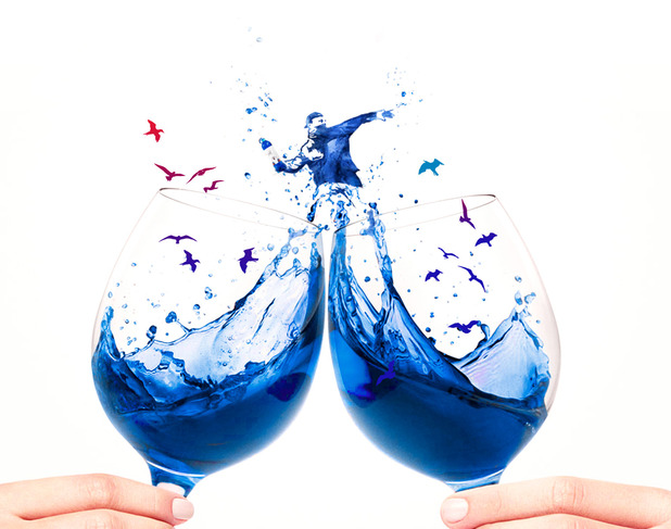 Blue wine is coming to the UK!