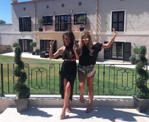 Megan McKenna and Chloe Meadows visit Spain for secret photo shoot - 23 June 2016