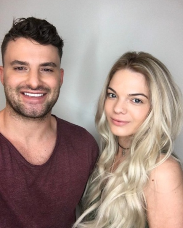 X Factor's Louisa Johnson shows off her lengthy blonde hair extensions on Instagram, courtesy of Easilocks, 21st June 2016
