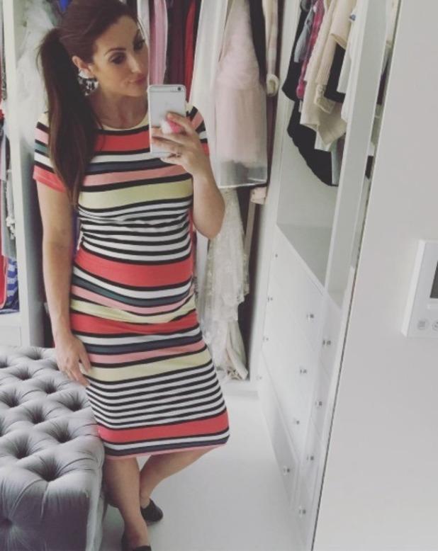 Luisa Zissman shares new bump picture - 23 June 2016