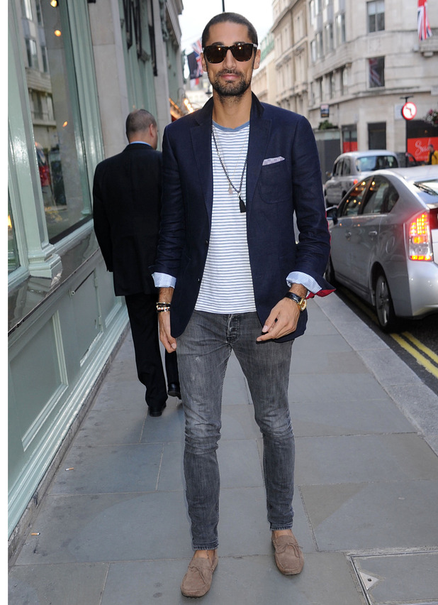 Hugo Taylor, Made In Chelsea, attends Rosie Fortescue's jewellery launch party in London, 21st June 2016