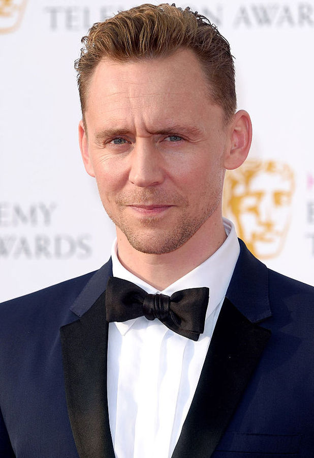 Tom Hiddleston arrives for the House Of Fraser British Academy Television Awards 2016 at the Royal Festival Hall on May 8, 2016 in London, England