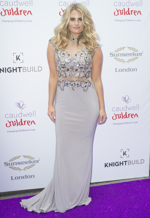 Celebrities attend Butterfly Ball Red Carpet at the Grosvenor House Hotel - 22 June 2016