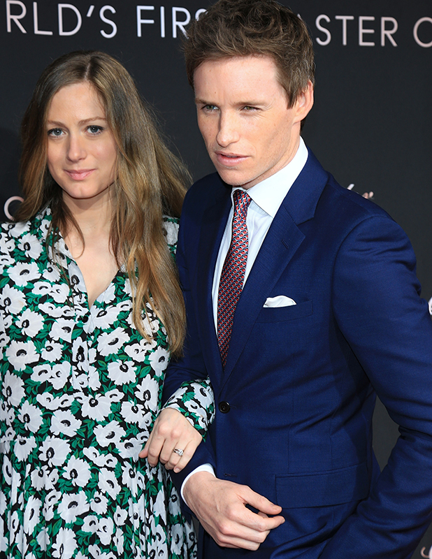 OMEGA Celebrates The Launch Of The Globemaster - The Worlds First Master Chronometer at Mark Sennett Studios - Arrivals Eddie and Hannah Redmayne