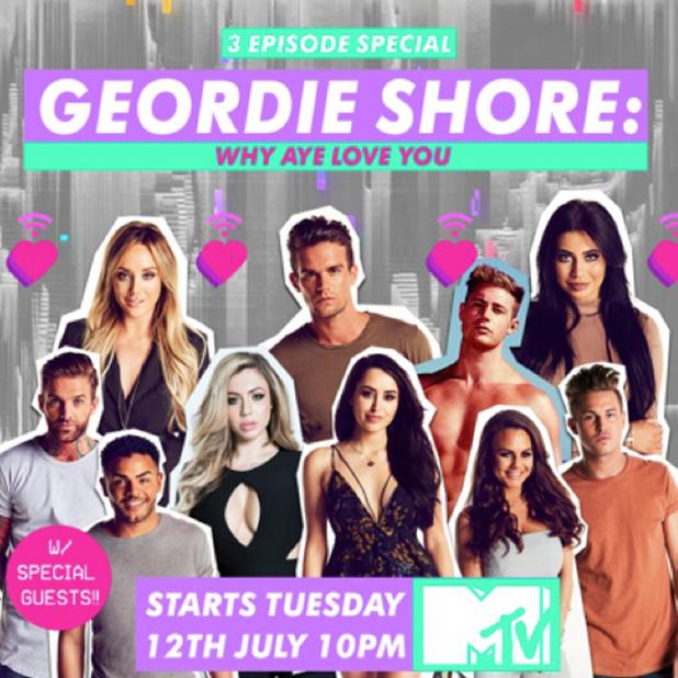 Geordie Shore Why Aye Love You special