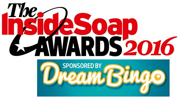 Inside Soap Awards 2016 sponsored by Dream Bingo Logo