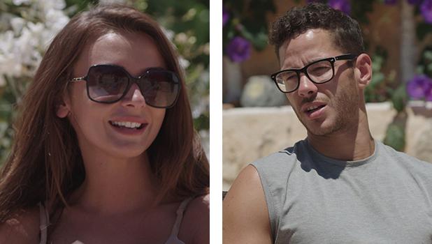 Love Island's Kady and Scott on date in market Episode 26