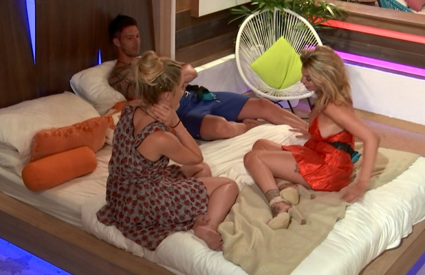 Love Island Episode 24 Tina and Adam talk about their feelings