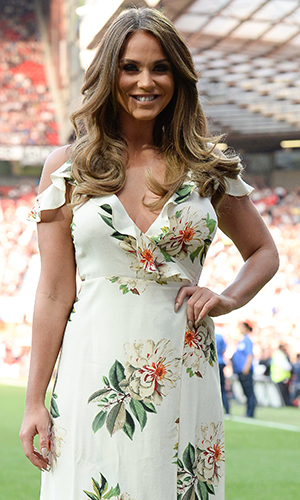 Celebrities take part in Soccer Aid a biennial sporting event raising funds for UNICEF. This Year Pelé is guest of honour at the tenth anniversary of the event Vicky Pattison