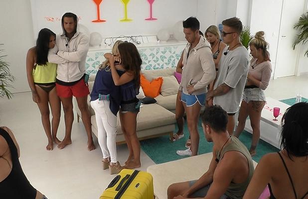 Zara Holland quits Love Island, episode 22, to air 2 June 2016