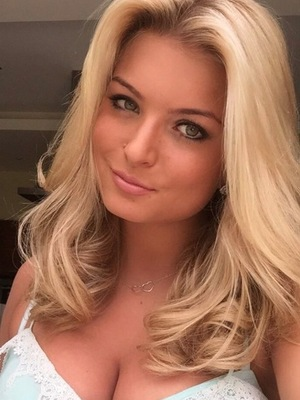 Zara Holland, Love Island, shows off her much blonder hairstyle on Instagram, 28th June 2016