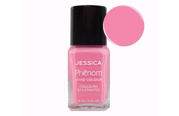 Jessica Phenom nail polish in Electro Pink £13.50, 28th June 2016