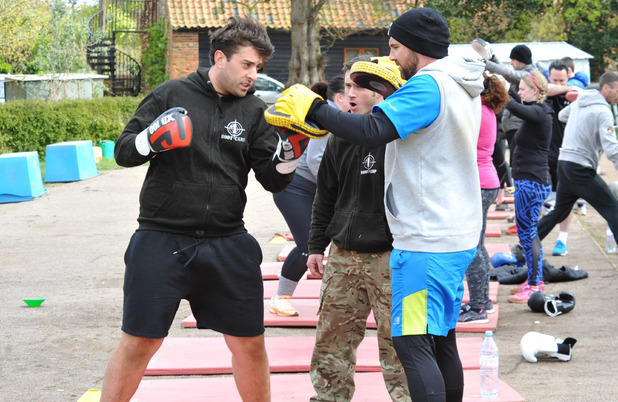 James Arg Argent at No 1 Boot Camp, Norfolk May-June 2016