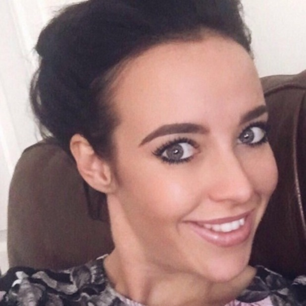Stephanie Davis selfie, Instagram 23 June