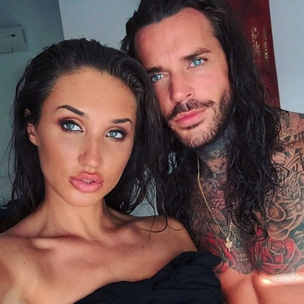 Pete Wicks and Megan McKenna are picture together in Ibiza - 29 June 2016