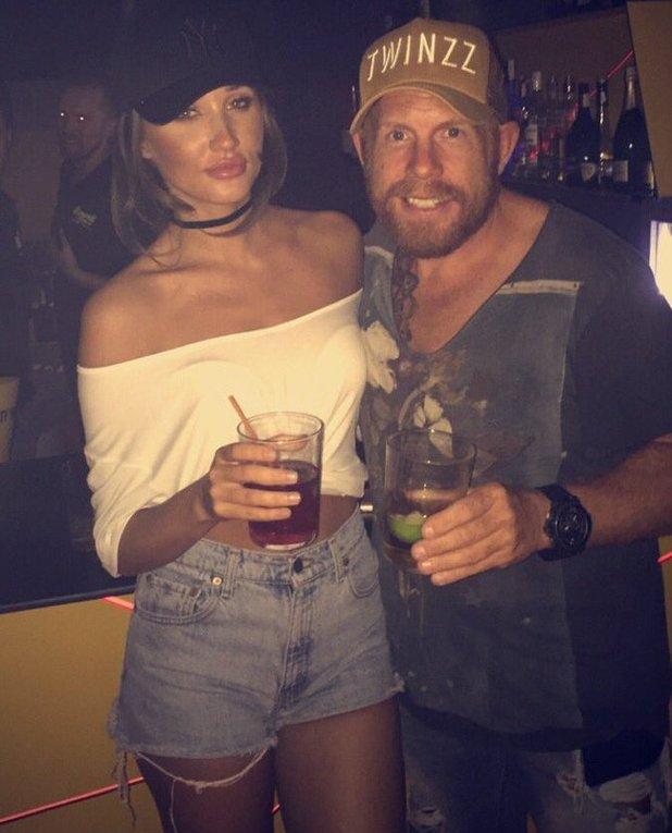 Megan McKenna meets Pete Wick's dad - 29 June 2016