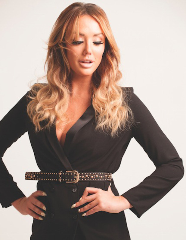 Former Geordie Shore star Charlotte Crosby has been announced as the new face of Easilocks hair extensions, 29th June 2016