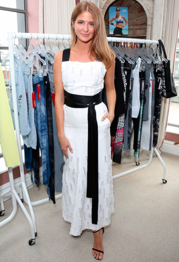 Former Made In Chelsea star Millie Mackintosh attends the Live! store launch and opening in London, 28th June 2016
