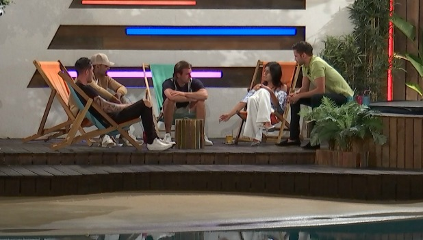 Love Island episode 35: Cara talks to the boys about Sophie and Katie