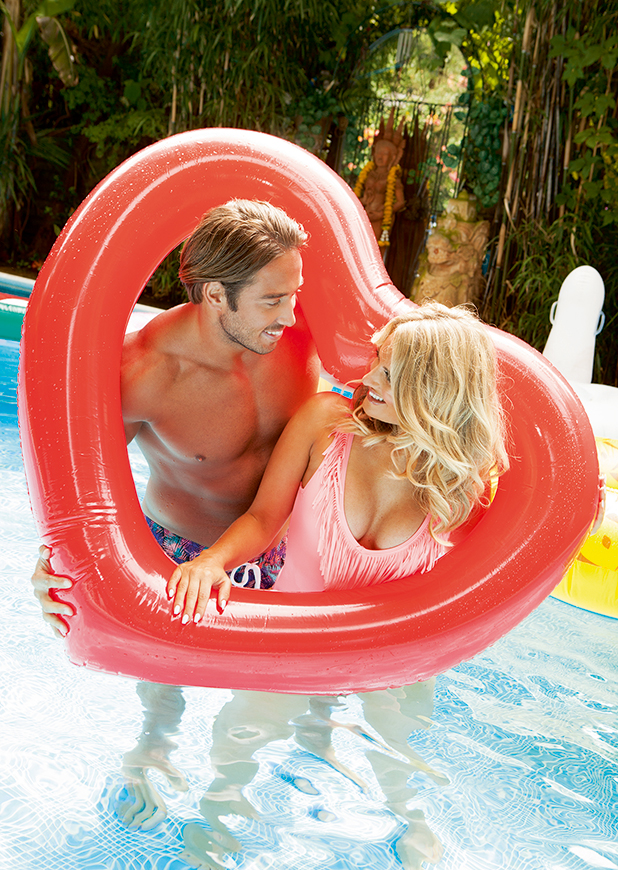 TOWIE's Danielle Armstrong and Lockie in exclusive Reveal magazine photoshoot Issue 26, 2016