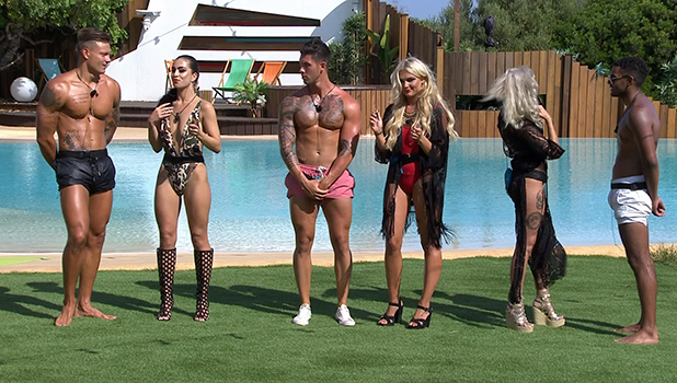 Love Island episode 33: Caroline Flack introduces eight hopefuls who have to play games to win place in villa