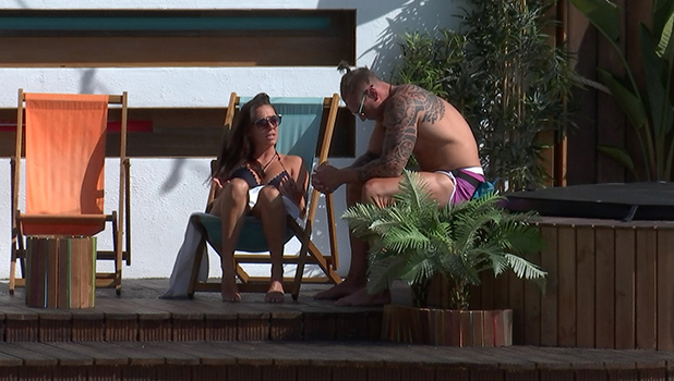 Love Island Episode 29 Sophie and Tom talk