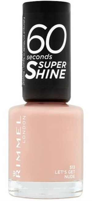 Rimmel Nail Polish 60 Second Let's Get Nude