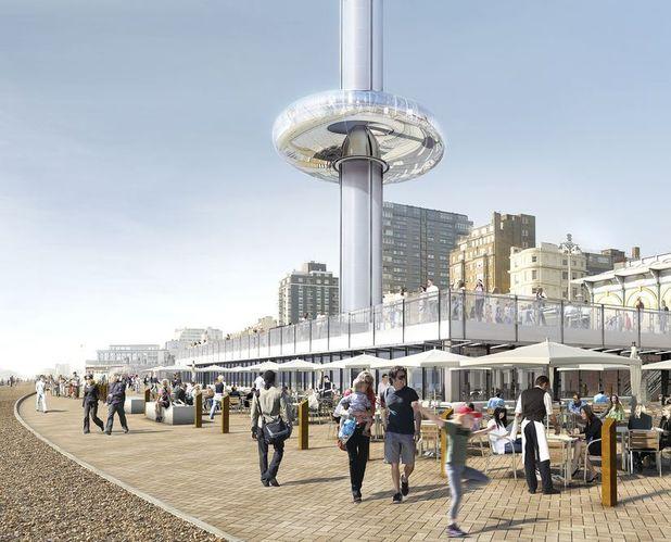 British staycations - British Airways i360 observational tower