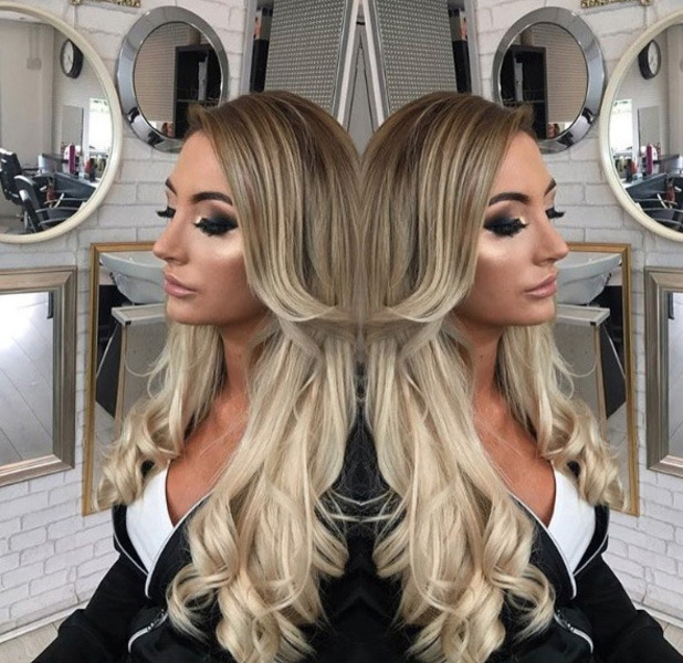 Liana Isadora Van Riel, Love Island shows off her new hair extensions on Instagram, 7th July 2016