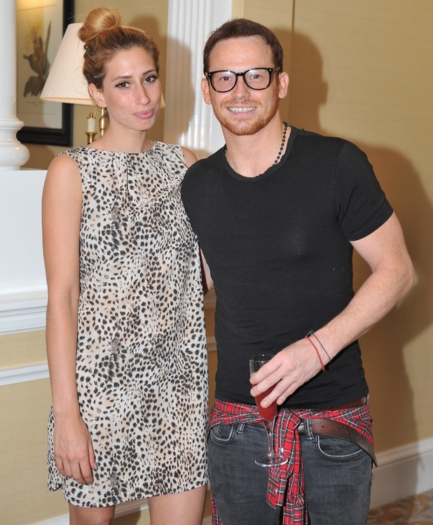 Stacey Solomon and Joe Swash attends Nadiya Hussain's Afternoon Tea Party - 6 July 2016