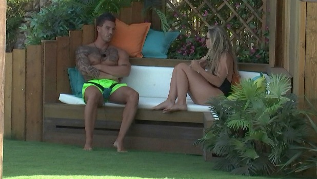 Love Island episode 38: Adam and Tina talk