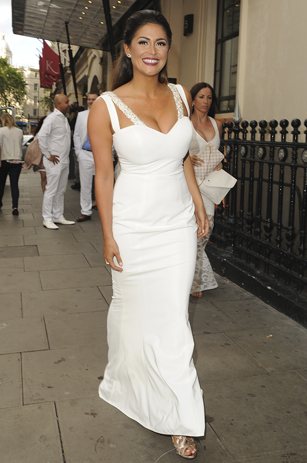 Celebrities attend The White Party at Grand Connaught Rooms, Covent Garden Casey Batchelor
