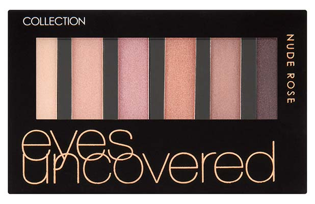 Collection Eyes Uncovered Palette in Nude Bronze, £3.99