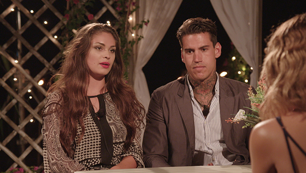 Love Island's Terry and Emma are eliminated, 8 July 2016