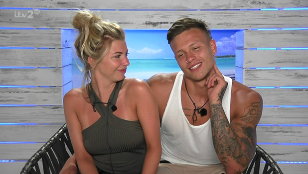 Love Island: Alex Bowen and Olivia Buckland