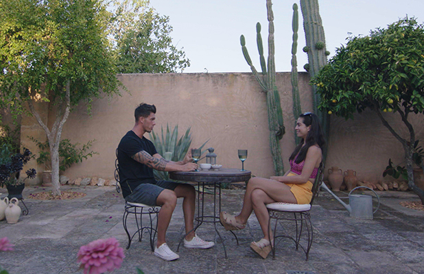 Love Island episode 39: Katie and Adam Maxted go on a date 7 July 2016