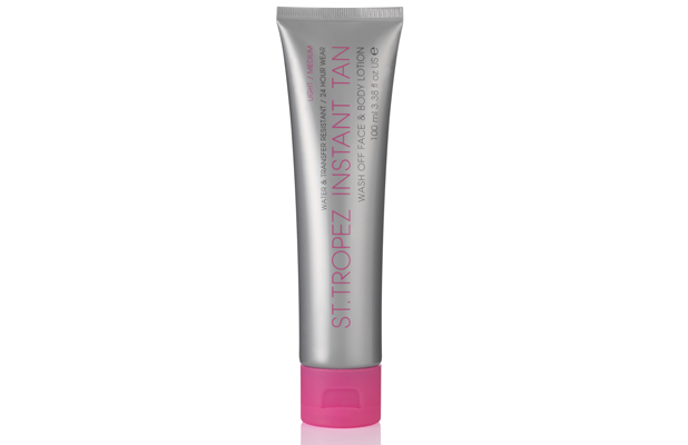 St. Tropez Instant Tan Wash Off Face and Body Lotion