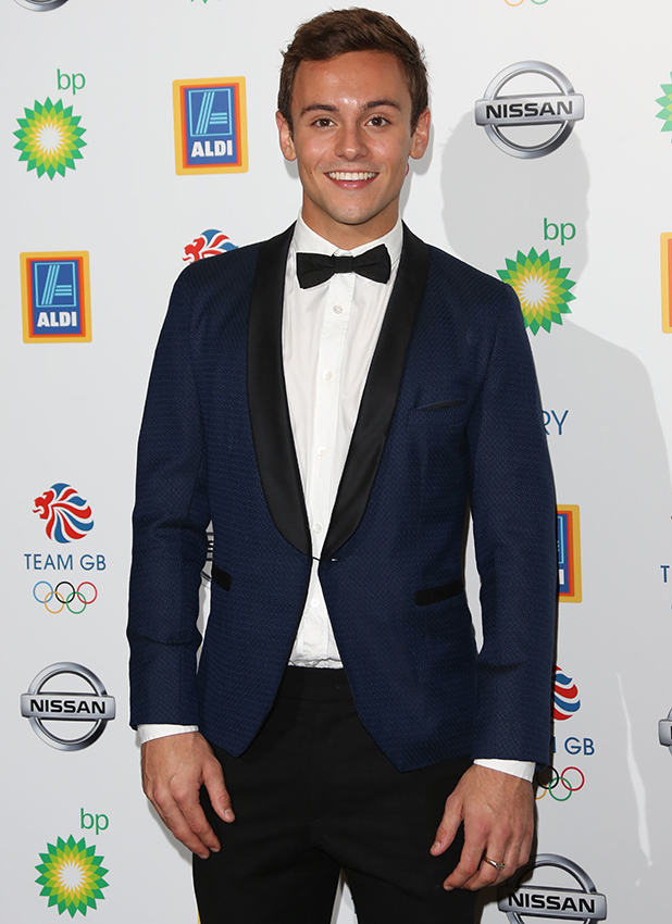 Tom Daley at Team GB Olympic Ball, London, 2015
