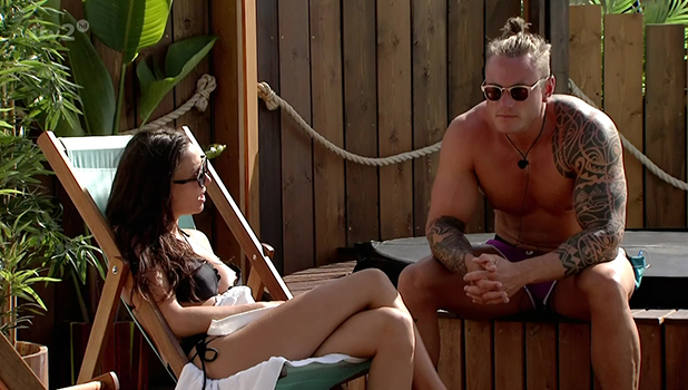 Love Island: Tom Powell and Sophie Gradon