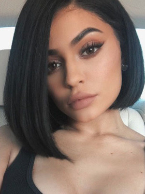 Kylie Jenner cuts her hair into an asymmetric bob, 15th July 2016