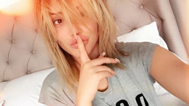 Geordie Shore's Charlotte Crosby shows off her natural hair sans hair extensions, Instagram, 10th July 2016