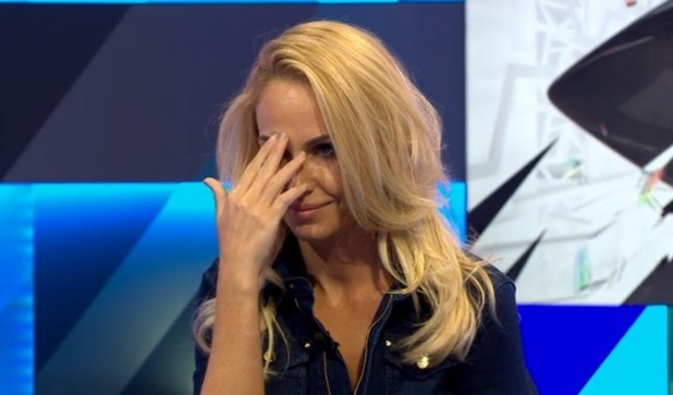 Josie Gibson reunites with John James on Big Brother's Bit On The Side 12 July