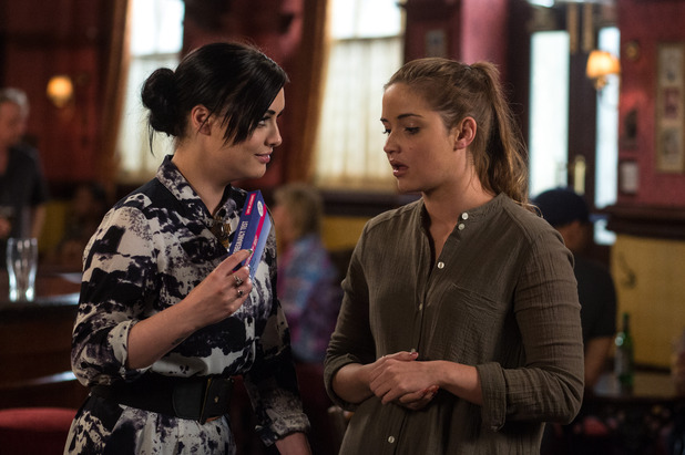 EastEnders, Whitney tells Lauren she might be pregnant, Fri 15 Jul