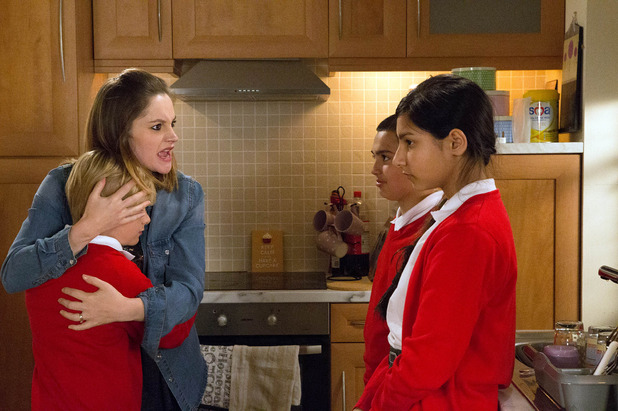 Corrie, Kylie shouts at Asha, Thu 14 Jul