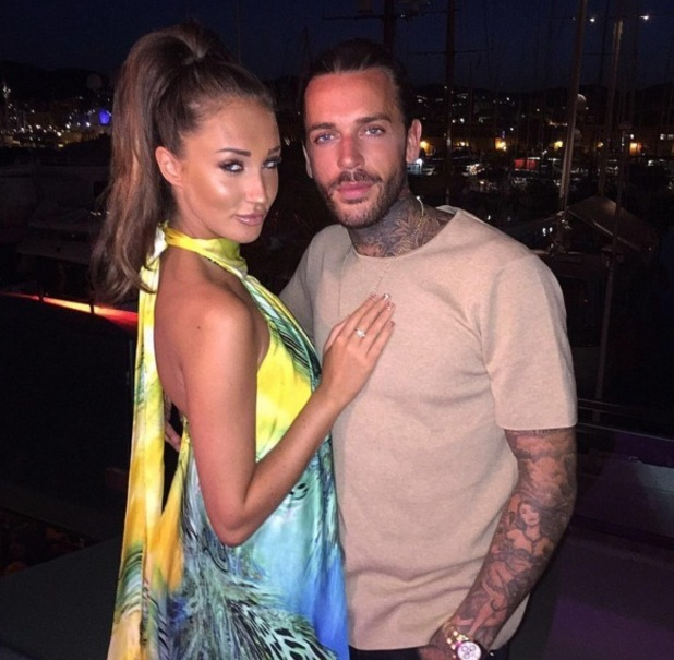Megan McKenna and Pete Wicks, Palma, Mallorca 7 July